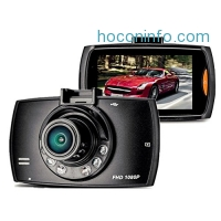 ihocon: Full HD 1080P 170 Wide Angle Dashboard Camera with Rear View Backup Camera