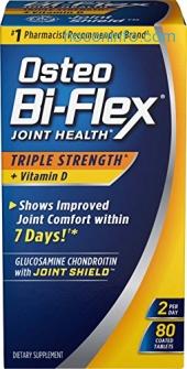 ihocon: Osteo Bi-Flex Triple Strength w/ Vitamin D, 80 Coated Tablets骨關節保養