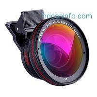 ihocon: Goodes Phone Lens 2 in 1 Professional HD Camera Lens Kit