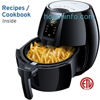 ihocon: FrenchMay Air Fryer - 3.7Qt 氣炸鍋