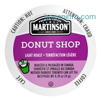 ihocon: Martinson Coffee, Donut Shop, 24 Single Serve RealCups膠囊咖啡