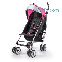 ihocon: Summer Infant 3Dlite Convenience Stroller, Hibiscus Pink