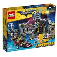 ihocon: LEGO BATMAN MOVIE Batcave Break-in 70909 Building Kit