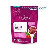 ihocon: Navitas Organics Goji Berries, 16 oz.有機枸杞