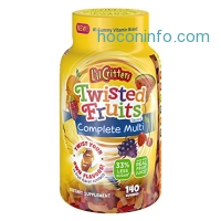 ihocon: L'il Critters Twisted Fruits Flavors Complete Multivitamin, 140 Count綜合維他命軟糖
