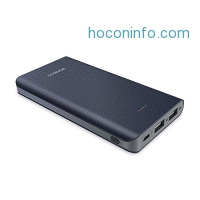 ihocon: OMOSS Sense 10000mAh Dual Output Portable Charger With Fast Charging快速充電行動電源