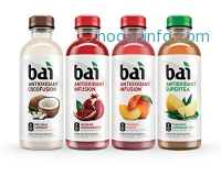 ihocon: Bai Costa Rica Clementine, Antioxidant Infused Beverage, 18 Fl. Oz. Bottles (Pack of 12)