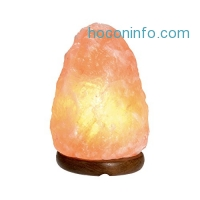 ihocon: Crystal Connection Salt Lamps Himalayan Crystal Lamp, Large, 9 to 12 lb.喜馬拉雅山岩鹽燈