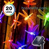 ihocon: LED Dragonfly Solar String Lights太陽能蜻蜓裝飾燈/聖誕燈