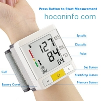 ihocon: [FDA Approved] Urion Wrist Blood Pressure Monitor手腕血壓計
