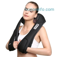 ihocon: Naipo Shoulder Cordless Massager for Neck and Back肩,頸加熱按摩器