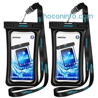 ihocon: Mpow Waterproof Case for Phone up to 5.7 inch 2-Pack手機防水袋