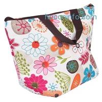 ihocon: BigbigMall Waterproof Insulated Lunch Cooler Tote Bag防水便當袋/野餐袋