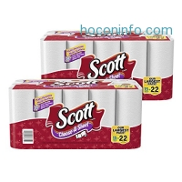 ihocon: Scott Choose-A-Sheet Mega Roll Paper Towels, White, 15 Rolls, Pack of 2