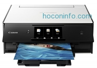 ihocon: Canon TS9020 Wireless All-In-One Printer with Scanner and Copier: Mobile and Tablet Printing, with AirPrint and Google Cloud Print Compatible, White