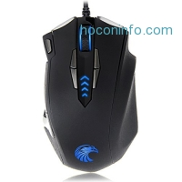 ihocon: EUASOO Mice Z-7900 4000 DPI Metal Base MMO/FPS High Precision Optical Gaming Mouse遊戲滑鼠