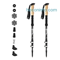ihocon: Enkeeo Carbon Fiber Trekking Poles (1 Pair)碳纖登山杖