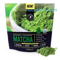 ihocon: Jade Leaf Matcha Green Tea Powder - USDA Organic, Authentic Japanese Origin有機日本抹荼