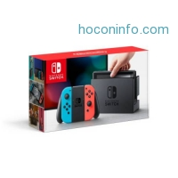 ihocon: Nintendo® Switch™ with Neon Blue and Neon Red Joy-Con™