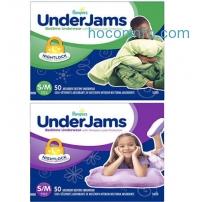 ihocon: Pampers UnderJams Bedtime Underwear Boys Size S/M, 50 Count