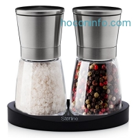 ihocon: Sterline Premium Salt and Pepper Grinder Set胡椒/鹽研磨組
