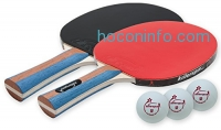 ihocon: Killerspin JETSET 2 Table Tennis Set(2 Paddles + 3 Balls)乒乓球拍