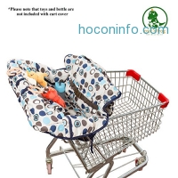 ihocon: Crocnfrog 2-in-1 Shopping Cart Cover | High Chair Cover for Baby