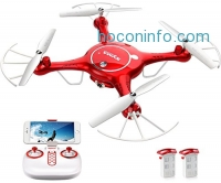 ihocon: DoDoeleph Syma X5UW WiFi Quadcopter Drone with 720p HD Camera 空拍機