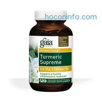 ihocon: Gaia Herbs Turmeric Supreme Extra Strength Liquid Phyto-Capsules, 120 Count