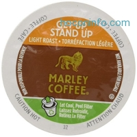 ihocon: Marley Coffee, Marley Mixer Single Serve RealCup Organic Variety Pack for Keurig K-Cup Brewers, 36 Count