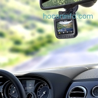 "ihocon: AUKEY Dash Cam, Dashboard Camera Recorder with Full HD 1080P, 170° Wide Angle Lens, 2"" LCD and Night Vision"