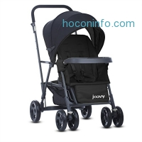 ihocon: Joovy Caboose Graphite Stand On Tandem Stroller, Black嬰兒推車