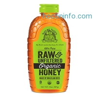 ihocon: Nature Nate's Organic Pure, Raw and Unfiltered Honey, 32 Ounce