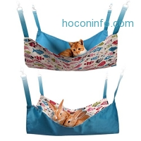 ihocon: PerSuper Reversible 2 Sides Small Pet Hammock 狗,猫雙面吊床