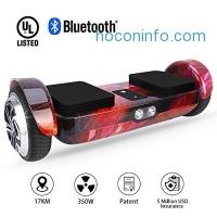 ihocon: Hoverboard Self Balancing Electric Scooter智能兩輪平衡車