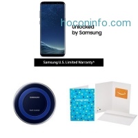 ihocon: Samsung Galaxy S8+ US Factory Unlocked Phone with Special Edition Qi Certified Fast Charge Wireless Charger and $100 Amazon Gift Card