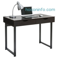 ihocon: LANGRIA Modern Computer Desk with 2 Drawers