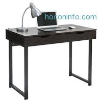 ihocon: LANGRIA Modern Computer Desk with 2 Drawers