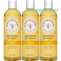 ihocon: Burt's Bees Baby Shampoo & Wash, Original, 12 Ounces (Pack of 3)