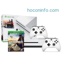 ihocon: Xbox One S Battlefield 500GB + Xbox Wireless Controller + Ghost Recon Wildlands