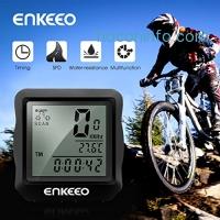 ihocon: Enkeeo Wired Bike Computer Bicycle Speedometer腳踏車計步器