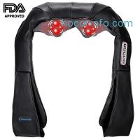 ihocon: Kingstar Shiatsu Neck and Shoulder Massager with Heat 肩頸加熱按摩器