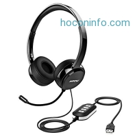 ihocon: Mpow USB Headset/ 3.5mm Computer Headset with Microphone有線麥克風耳機