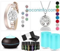 ihocon: Essential Oil Diffuser Bracelet with 8 Color Pads精油手鍊