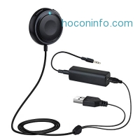 ihocon: Mpow Bluetooth Receiver藍芽接收器/汽車免持聽筒接收器