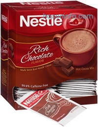 ihocon: Nestle Hot Cocoa Mix, Rich Chocolate, 50 Count, 0.71 Ounce Packets熱可可