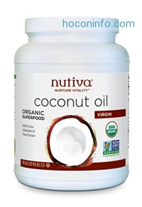 ihocon: Nutiva Organic Coconut Oil, Virgin, 78 Ounce