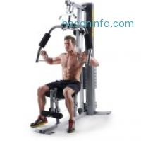 ihocon: Gold's Gym XRS 50 Home Gym with High and Low Pulley System