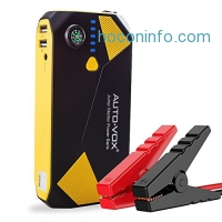ihocon: AUTO-VOX 14000mAh Portable Car Jump Starter with Compass LED Lights汽車啓動行動電源