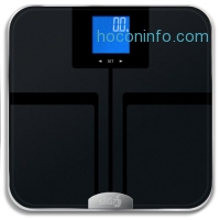 ihocon: EatSmart Products Precision Getfit Digital Body Fat Scale with Auto Recognition Technology